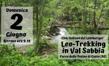 Leo-trekking in Val Sabbia