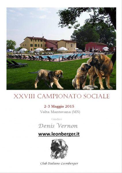XXVIII CAMPIONATO SOCIALE
